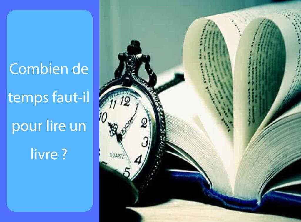 Combien de temps faut-il pour lire un livre